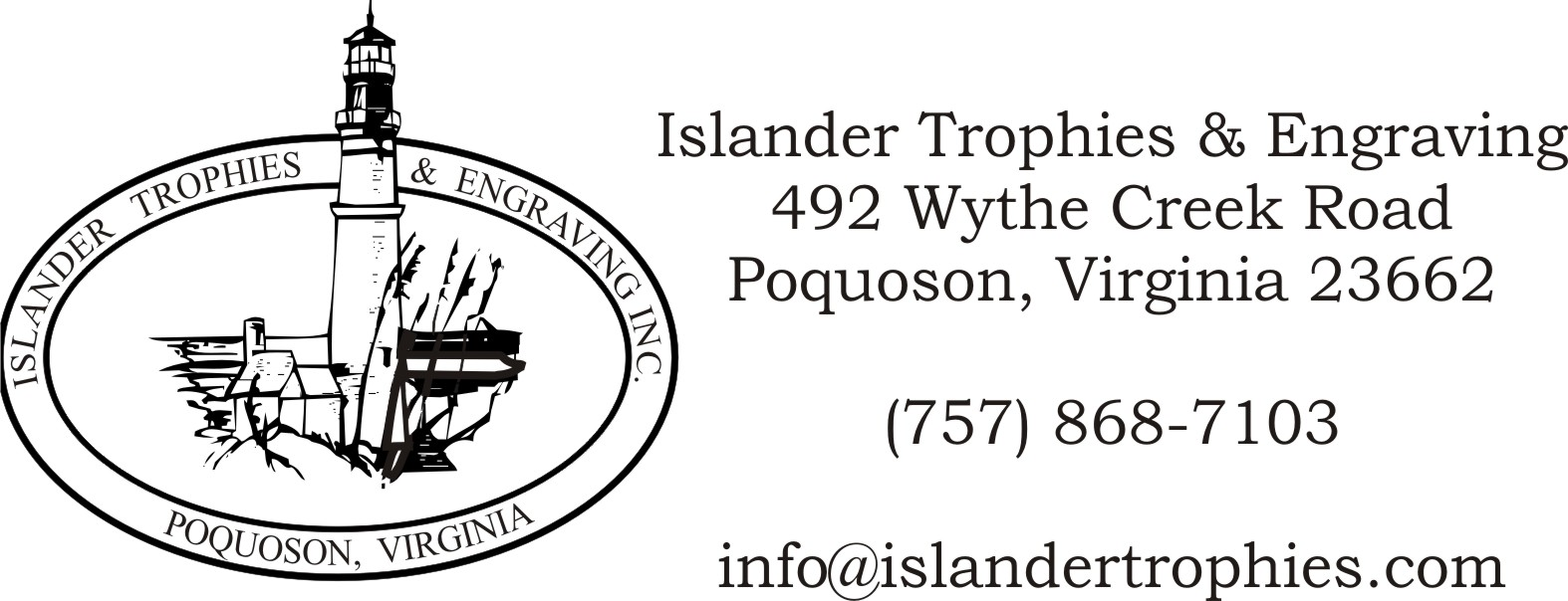 Islander Trophies & Engraving